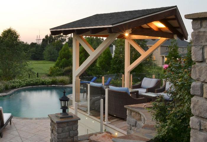 Custom Decks And Patio Environments. Custom Pool Area